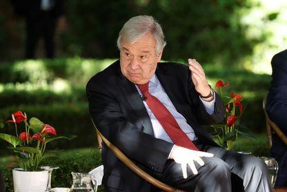 """Antonio Guterres: """"Solo deseo que gane el mejor"""""""