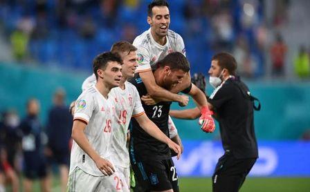 Suiza 1-1 España: España gana a la ruleta rusa de los penaltis (Crónica)