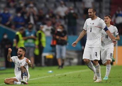 Italia-España, primera semifinal