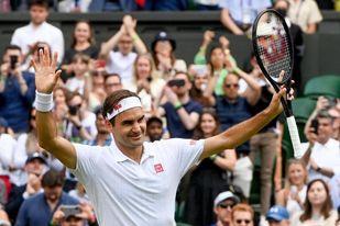 Federer, a octavos con traspiés
