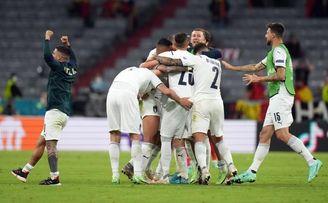 Italia estableció un nuevo récord de ´eurovictorias´ seguidas