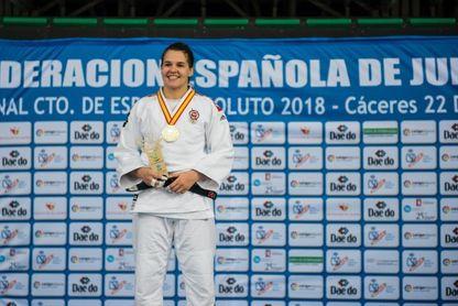 La judoka Sara Álvarez, operada con éxito de su lesión en la rodilla