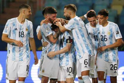 Messi con gol y Ospina evitándolos ponen a Argentina y Colombia en semis