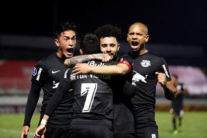 El Bragantino se impone al Sao Paulo y pone en aprietos a Hernán Crespo
