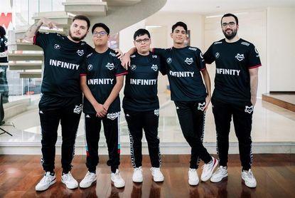 El campeón Infinity sigue dominante en la Liga latina de League of Legends