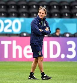 """Mancini: """"España tuvo un cambio generacional, pero sus jóvenes son fuertes"""""""