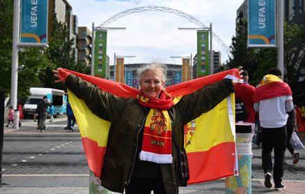 9.000 Aficionados españoles estarán en la grada de Wembley