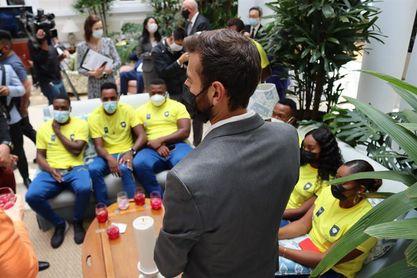 Ecuador despide a sus deportistas olímpicos y paralímpicos que irán a Tokio