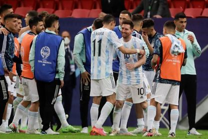 Argentina y Brasil se citan 14 años después para dirimir otra Copa América