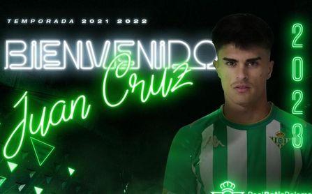 Juan Cruz, tercer fichaje del Betis Deportivo