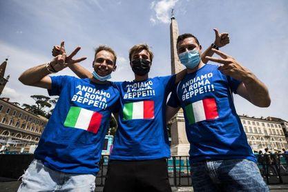 Roma estudia abrir el Olímpico para proyectar la final de Italia