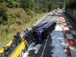 Dos muertos al accidentarse el autobús de un equipo de fútbol sala brasileño