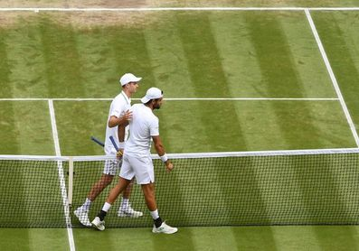 Berrettini, primer finalista italiano en la historia de Wimbledon