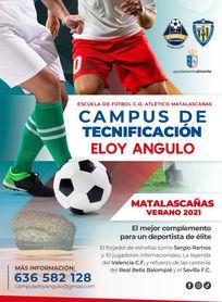 Vuelve el Campus de Tecnificación de Eloy Angulo