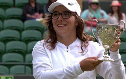 Ane Mintegi se convierte en la primera júnior española en ganar Wimbledon