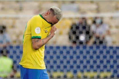 Neymar, una buena Copa América que acaba entre lágrimas