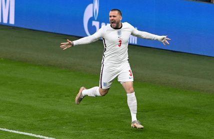 Shaw marca el gol más rápido en una final de Eurocopa
