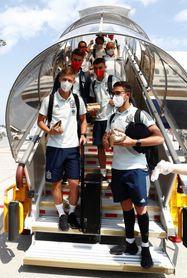 España llega a Japón y realizará su primer entrenamiento en Kobe