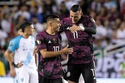 0-3. Con 2 goles de Rogelio Funes Mori, México golea a Guatemala y lo elimina