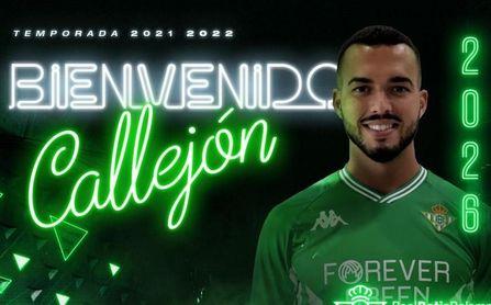 El Betis Deportivo firma a Callejón en propiedad