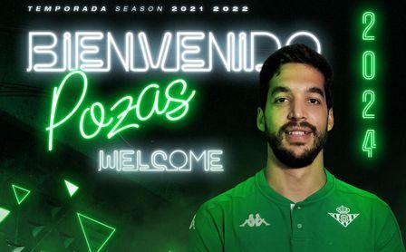 Pepe Pozas, nuevo jugador del Betis Balonceso