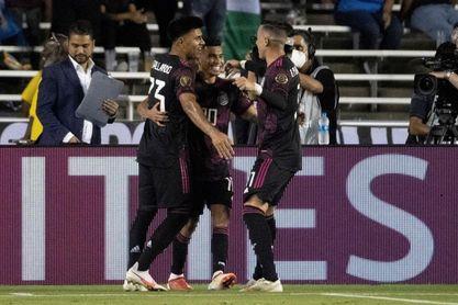1-0. México vence a El Salvador y se queda con el primer lugar del grupo A