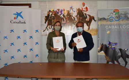 CaixaBank renueva su apoyo a las Carreras de Caballos de Sanlúcar.