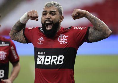 'Gabigol' aporta un triplete y el Flamengo vapulea al Bahía