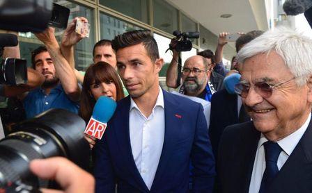 Rubén Castro, absuelto del delito de quebrantar la orden de alejamiento.