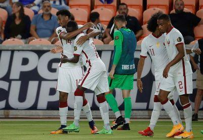 2-0. Catar vence a Honduras y se cita con El Salvador en cuartos de final