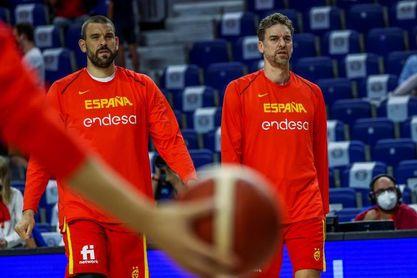 La selección española ya está en Tokio