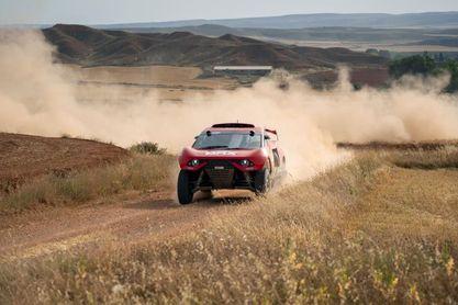 Loeb se adjudica por un segundo la primera etapa de la Baja España Aragón