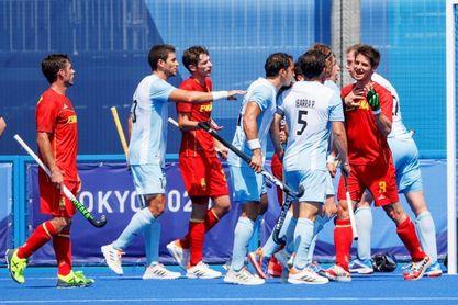 1-1. España y Argentina firman tablas en su debut