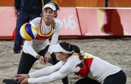 Fernández y Baquerizo caen por 2-0 ante las subcampeonas del mundo