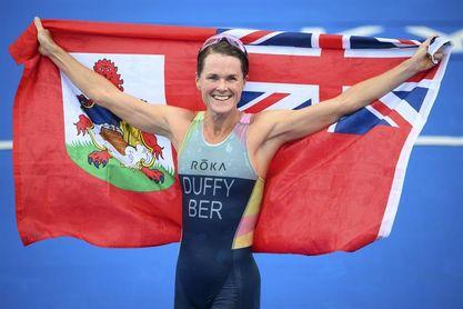 Flora Duffy, nueva campeona olímpica de triatlón