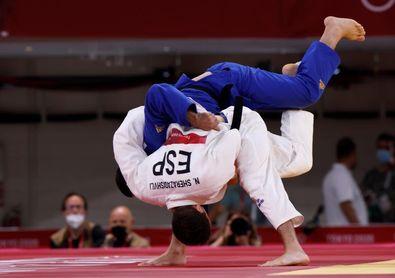 Sherazadishvili cae ante el temido Igolnikov y va a la repesca en Tokio