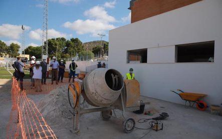 Gilena mejora vestuarios y sedes de clubes con el apoyo de la Diputación