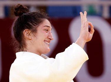 La judoca brasileña Mayra Aguiar conquista su tercer bronce olímpico en Tokio