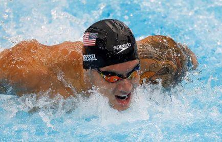 Caeleb Dressel establece un nuevo récord olímpico en los 100 metros mariposa