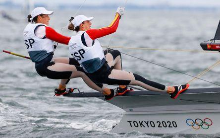 Tres barcos españoles acarician las medallas