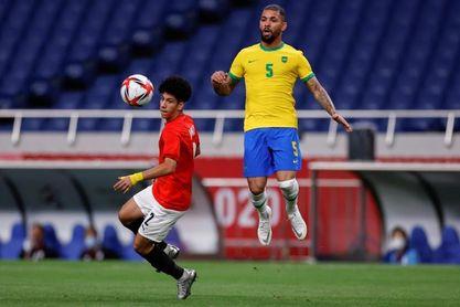 1-0. Brasil sigue defendiendo su corona