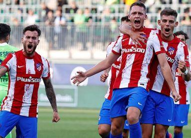 1-2. Garcés y Sánchez desatascan al Atlético en Wolfsburgo