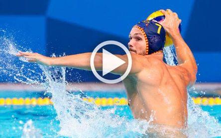 Australia 5-16 España: ¡Primeros! El waterpolo español, de dulce