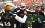 Alonso (Piloto del Día): Contento, mi mejor puesto del año y el del equipo