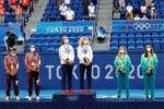 Las checas Krejcikova y Siniaková ganan el oro olímpico en dobles femenino