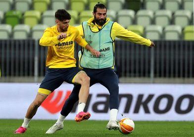2-1. El Villarreal da una buena imagen a pesar de perder en el Velodrome