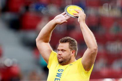 Stahl primer discóbolo sueco campeón olímpico