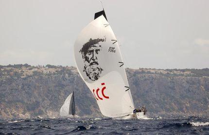 Felipe VI participa en la primera regata de la Copa del Rey de vela en Palma