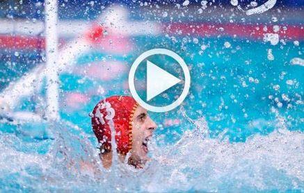 España 8-4 Croacia: Unai Aguirre marca el camino a las medallas