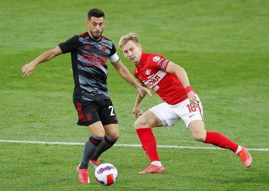 Gilberto y Rafa Silva despejan el camino del Benfica